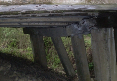 На Буковині закрили міст між Чернівцями і Глибокою