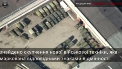 У Донецьку бойовики розміщують важку техніку біля шкіл та житлових будинків