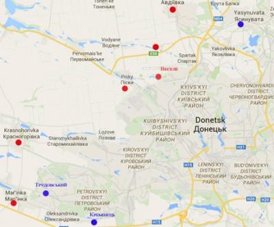 """Бойовики тягають по Донецьку """"відведену"""" військову техніку"""