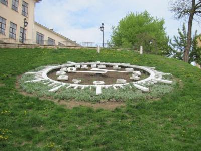 У Чернівцях знову запрацював квітковий годинник