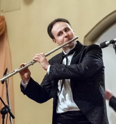 У Чернівцях сьогодні - концерт з участю флейтиста-віртуоза Станіслава Зубицького