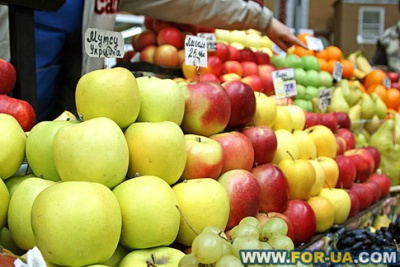 У Чернівцях українські яблука продають дорожче ніж польські