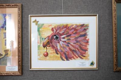 Діти-художники Чернівців створили до Дня матері виставку картин (ФОТО)