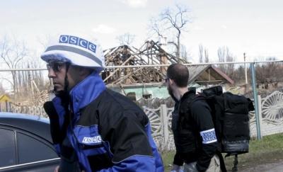 """ОБСЄ зафіксувала обстріли з """"Градів"""""""