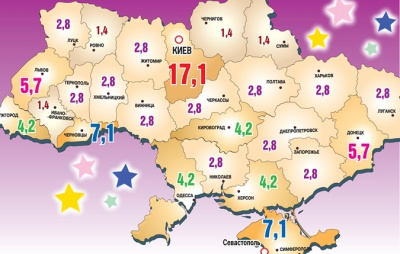 """Буковина - друга в рейтингу """"зіркових"""" регіонів"""