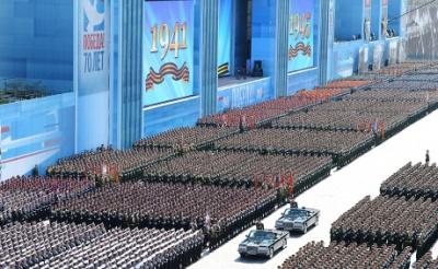 У Москві проходить найбільший в історії парад