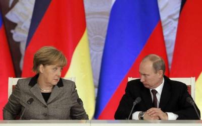 """Канцлер Німеччини у Москві назвала анексію Криму """"злочинною"""""""