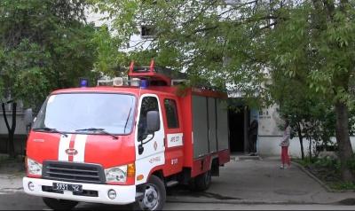 В Черновцах горела шахта лифта многоэтажки