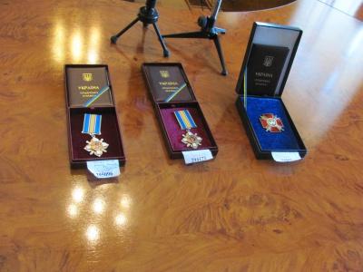 Загиблих в АТО буковинців посмертно нагородили орденами (ФОТО)
