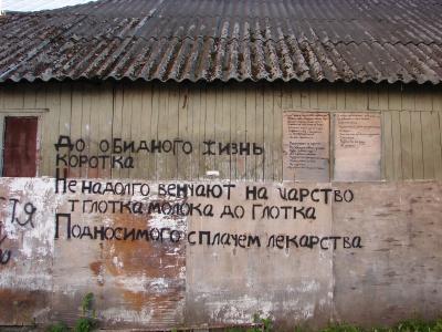У Чернівцях з'явилася мода на текстові графіті (ФОТО)