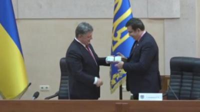 Порошенко призначив головою Одеської ОДА екс-президента Грузії