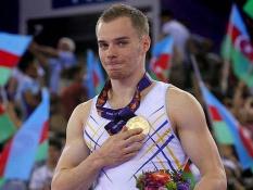 Український гімнаст виборов золоту медаль на I Європейських іграх