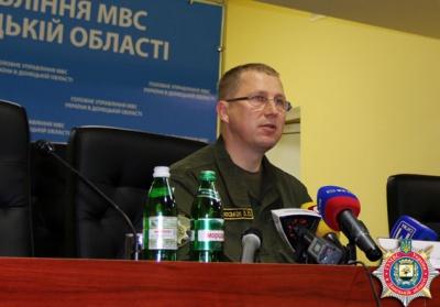 З 15 тисяч міліціонерів Донеччини на службі залишилися 6 тисяч
