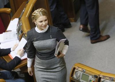 Тимошенко заявила, що підписаний нею газовий контракт відміняти не можна