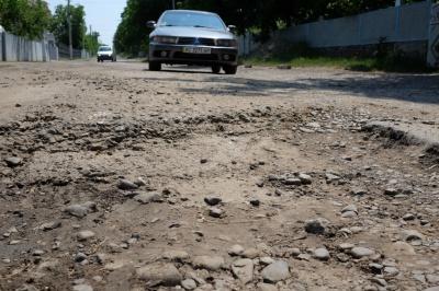 Ремонт дороги на Заставну приостановили из-за проблем с финансированием (ФОТО)