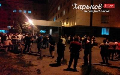 У Харкові затримали 5 осіб, яких підозрюють у вчиненні нічних погромів