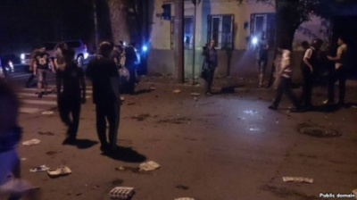 Українське МЗС висловило протест з приводу нападів на дипустанови у Росії
