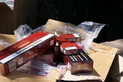 На Буковині за 300 метрів від кордону знайшли схованку з цигарками