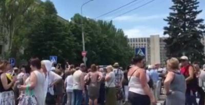 У Донецьку мітингували проти війни (відео)