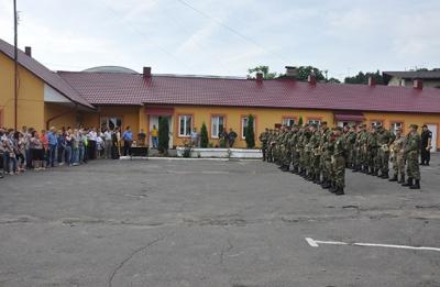 В зону АТО відправили 35 буковинських міліціонерів (ФОТО)