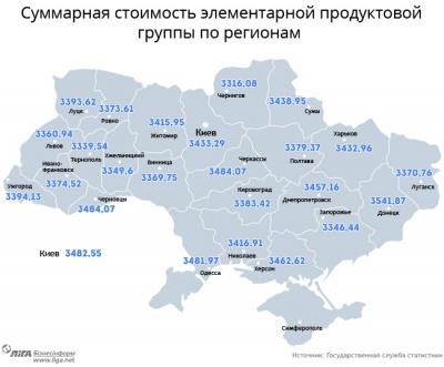 Харчі на Буковині - серед найдорожчих в Україні