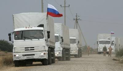 "31-й російський ""гумконвой"" незаконно перетнув український кордон"
