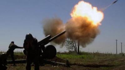 Під Маріуполем бойовики гатять із 152-мм гаубиць
