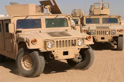 Україна отримає від США сотню броньованих Humvee