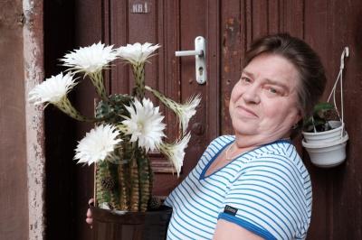 У чернівчанки зацвів 30-річний кактус (ФОТО)