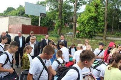 Ще одна група дітей з Луганщини відпочине на Буковині (ФОТО)