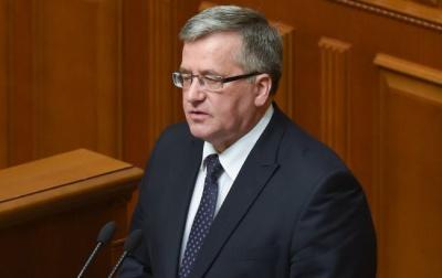 Коморовський приїде до Львова, можлива зустріч з Порошенком