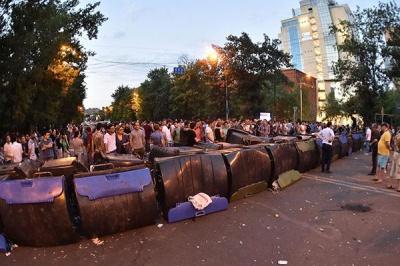 Поліція Єревану збирається прибрати з вулиць барикади