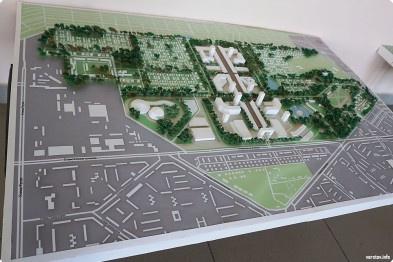 Ветеринарний комплекс і сучасний виставковий центр - архітектори області презентували проекти