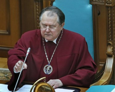 Голова Конституційного Суду потрапив у ДТП
