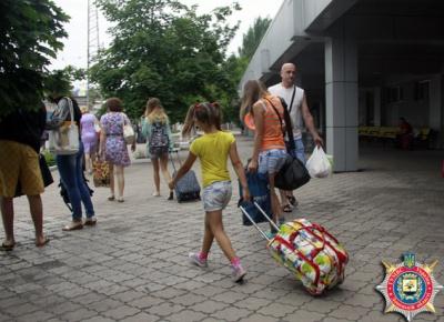 Дети донецких милиционеров отдохнут на Буковине (ФОТО)