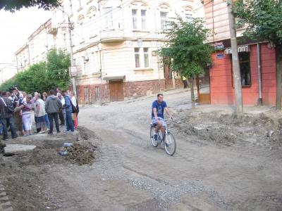 На вулиці Хмельницького знову мітингували мешканці