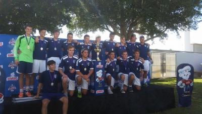 Футбольна команда чернівчанина стала чемпіоном штату Флорида (ФОТО)