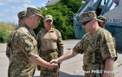 Турчинов каже, що будівництво оборонних рубежів на завершальному етапі