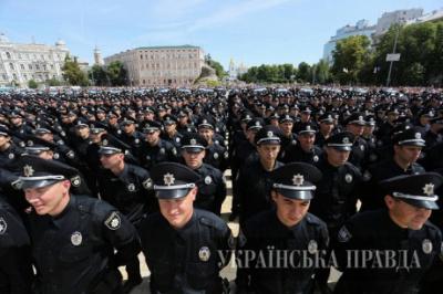 Київський журналіст протестував роботу нових поліцейських