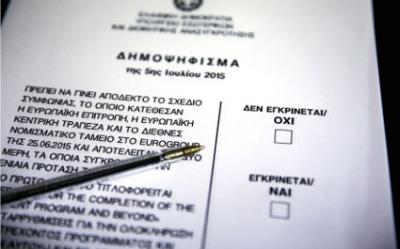 Опитування: Греки на референдумі відмовили кредиторам