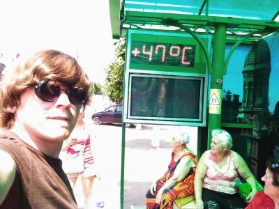 У Чернівцях - рекордна температура
