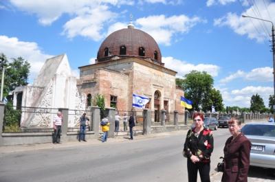 Євреї з усього світу вшанували в Чернівцях пам'ять загиблих у роки Голокосту (ФОТО)
