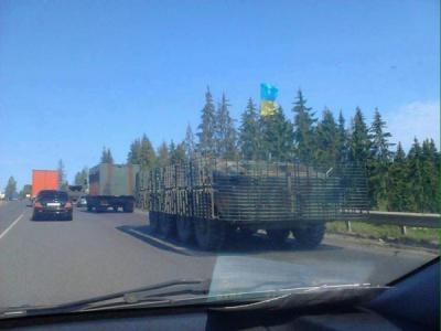 ЗМІ: У бік Мукачево рухається колона військової техніки