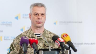 У зоні АТО за минулу добу поранено п'ять військових