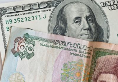 На міжбанку курс гривні знизився до рівня 22,1 за долар