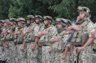 На Буковину з АТО повернулася група нацгвардійців