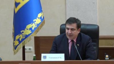 Саакашвілі хоче звільнити половину чиновників Одеської ОДА