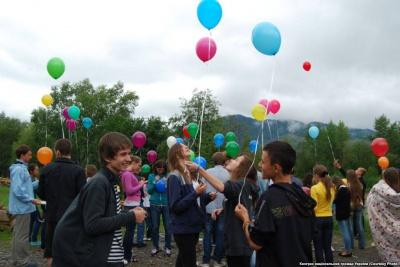На Буковині відкрили міжнародний дитячий табір