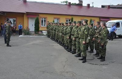 У зону АТО вирушив ще один загін буковинських міліціонерів