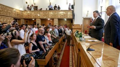 Події на Закарпатті Порошенко вважає сценарієм Кремля
